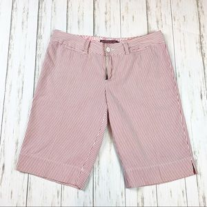 Vineyard Vines Pink Striped Shorts Size 6